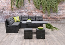 Wicker loungeset 250