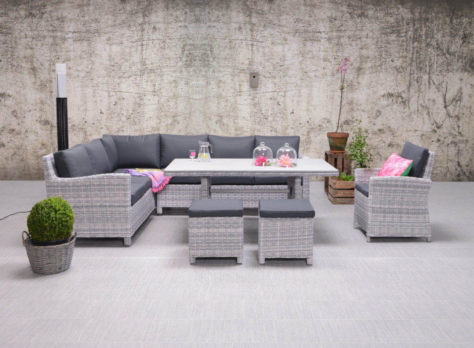 garden impressions lounge dining set